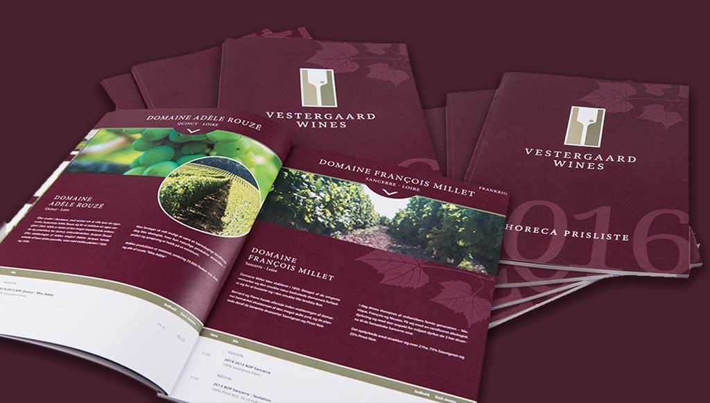 Vestergaard Wines – Vinkatalog
