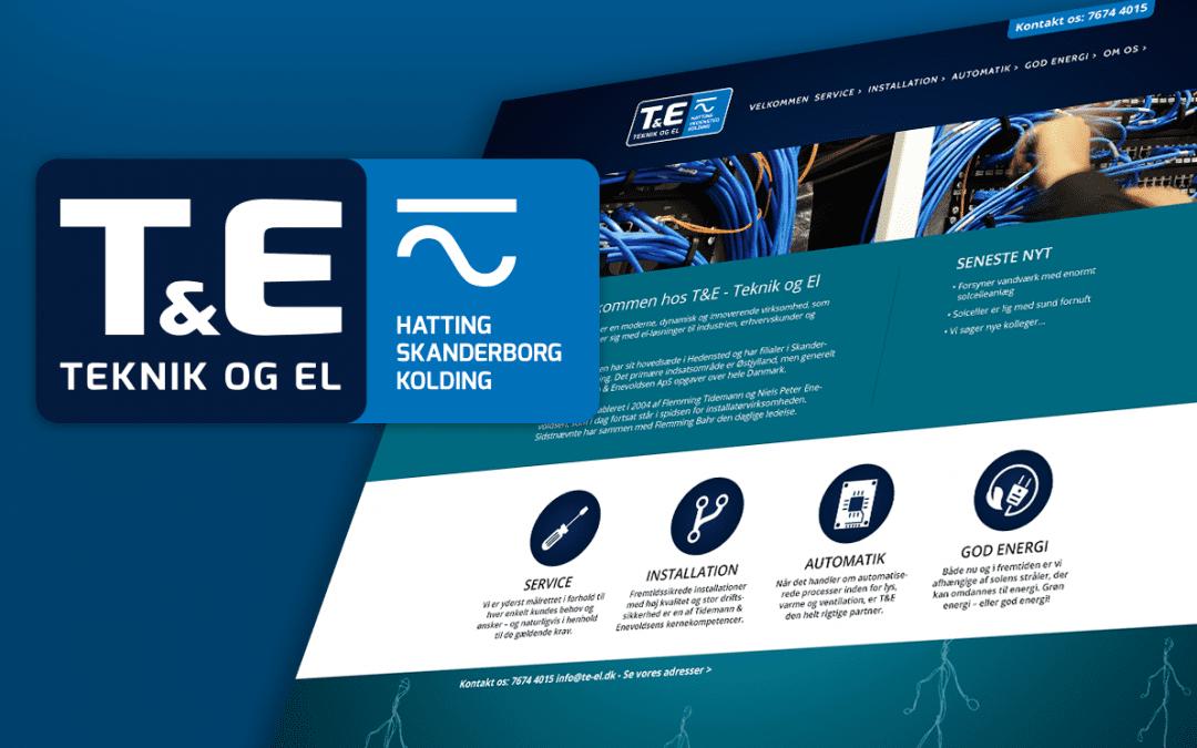 Teknik & El – Grafisk profil & web