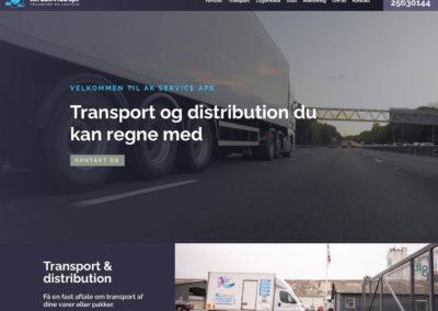 AK Service – webdesign